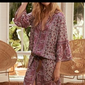 Spell and the gypsy Jasmine Midi Tunic